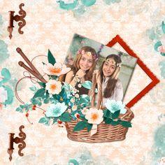 Bribri62-Scrap: Ma page avec le Kit Summer Lady de Kastagnette