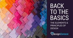 Back to the Basics: The Elements & Principles of Design