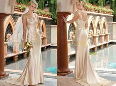 Champagne Colored Wedding Dresses (Source: assets6.pinimg.com)