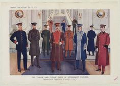 Menswear 1910s- military uniforms, Plate 003. 1910. Metropolitan Museum of Art, New York, NY. Costume Institute. #soldiers  #military | We must never forget why we have the military.