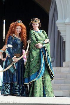Merida and Queen Elinor