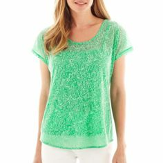 Burnout Tee from JCPenney