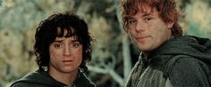 frodo and sam GIF Ian Holm, Merry And Pippin, 3 Gif, Frodo Baggins, One Does Not Simply, Elijah Wood, J. R. R. Tolkien, Famous Words, Cute Friends