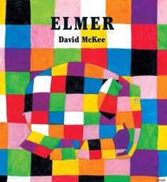 Elmer is different. Elmer is patchwork. Storytelling App, Good Books, My Books, Amazing Books, Elmer The Elephants, Elephant Book, Different Kinds Of Lines, Elephant Colour, Album Jeunesse