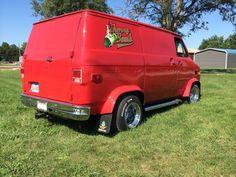 1971 Chevy G10 Shorty Custom Van