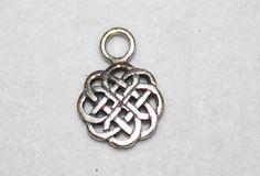 Celtic Jewelry Charm Sterling Silver Love Knot by artasalchemy, $4.98
