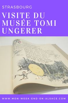 Visite du musée Tomi Ungerer à Strasbourg - Mon week-end en Alsace Strasbourg, Muse, France Travel, Family Vacations, Travel, Artist