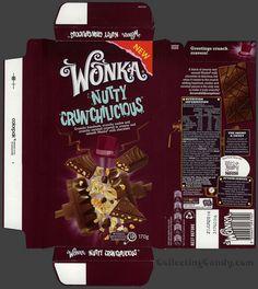 Australia-New Zealand - Nestle - Wonka Nutty Crunchilicious - chocolate bar wrapper box - August 2013 by JasonLiebig, via Flickr