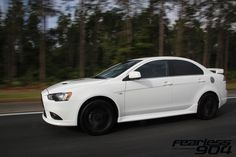 Mitsubishi Lancer Ralliart can't decide if I like the sedan or hatchback better