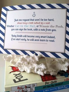 Printable Nautical Baby Shower Invite Insert by itsJUSTmyTYPE, $10.00