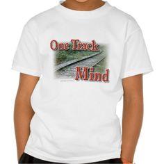 One Track Mind T Shirt, Hoodie Sweatshirt
