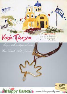 happy easter lakasa e-shop jewelry greek art silver crown pearl handmade greece