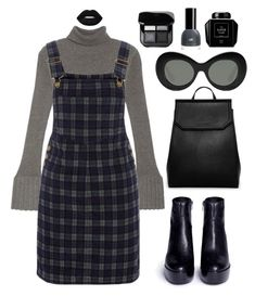 """hitam"" by bilbil ❤ liked on Polyvore featuring Adrianna Papell, Red Herring, Ash, CHARLES & KEITH and Elizabeth and James"