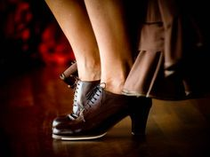 zapatos de flamenco.... FOOTWORK