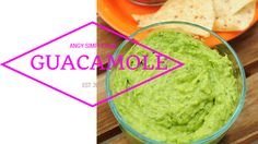 GUACAMOLE. Ricetta sul canale YouTube ANGY SIMPLE food