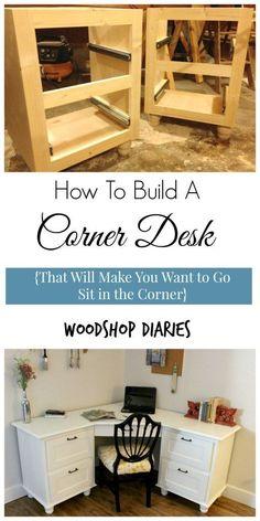 A Corner I Wouldnu0027t Mind Being Sent To  DIY Corner Desk