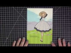 August 2015 | Paper Doll Layout-Stephanie Klauck video of Prima Doll as Maria in sound of Music