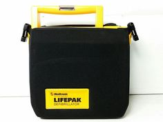 Medtronic Lifepak 500T AED Defibrillator Training System w/ Battery, Pads, Case #Medtronic