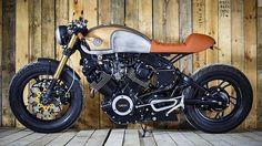 Yamaha XV750 By Sparta Garage @spartagarage #custom #bike #motorcycle #caferacer #scrambler #bratstyle #instamoto #stocksucks #builtnotbought #saintmotors #saint_motors #kustom #kulture #in_motors_we_trust #epidemic_motors #epidemicmotors #handmade