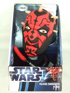 Peluche Star Wars. Darth Maul, 22 cms. Con Sonido