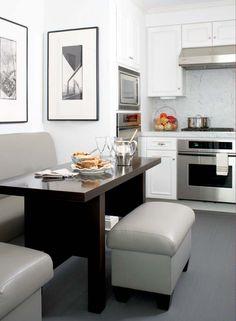 Some great design photos from a Boston condominium...