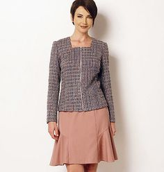 Misses Jacket and Skirt Pattern Butterick Sewing by blue510