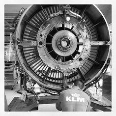 #engine #maintenance #KLM #Engineshop