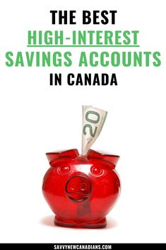 Get a high interest rate on your savings account by choosing one of these best high interest savings accounts in Canada. Take advantage of these awesome interest rates and make money. #savingsaccount #interestratescanada #interest #savings #money #finances #interestrate Money Tips, Money Saving Tips, Make Money From Home, How To Make Money, High Interest Savings Account, Savings Accounts, Best Interest Rates, Frugal Living Tips, Debt Payoff