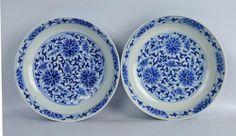 Tongzhi Mark & Period Pr Chinese B & W Dishes Lot 32 EST Price: USD 2,000 - 3,000 Start Price: USD 1,000 The Collector, Tea Pots, Jade, Auction, Decorative Plates, Tea Pot