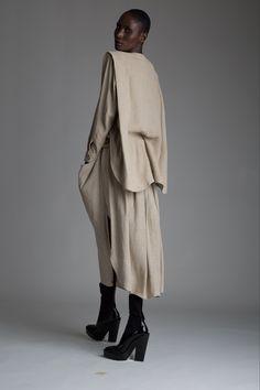 Vintage Issey Miyake Plantation Top and Skirt Set. Designer Clothing Dark Minimal Street Style Fashion