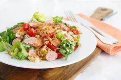 5 or less: Hotdogsalade