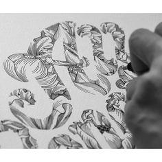 429 отметок «Нравится», 1 комментариев — ♠SPIDER MONEY♣ (@oneiscool) в Instagram: «Lotus all the way.  #typography #allgenetix #logo #design #art #goodtype #type.gange #lettering…»