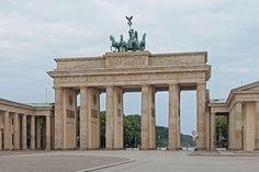 Brandenburger Tor morgens - Berlin - Wikipedia, the free encyclopedia