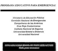 Organización escolar para desastres : Guía para docentes continuidad
