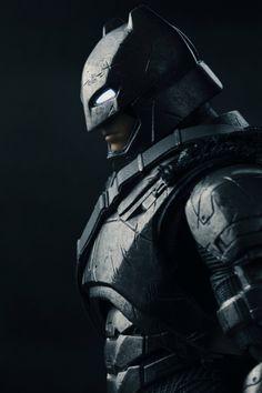 "herochan: ""Miracle Action Figure EX: Armored Batman Image by Baidujya Saikia """
