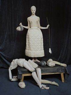 """Codie Young photographed by Tim Walker for Vogue Italia, October 2014 (""""In a Silent Way"""")."""
