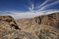 Trekking in the Oman Mountains - There are plenty of spectacular mountains hikes in Al Hajar Mountain Range