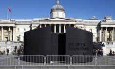 BE OPEN: Sound Portal at Trafalgar Square   Be Open   Wallpaper* Magazine: design, interiors, architecture, fashion, art