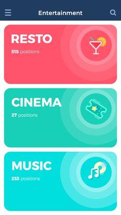 Tubik studio app concept screen1