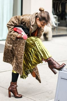 fwah2016 Street looks a la Fashion Week automne-hiver 2016-2017 de New York 20