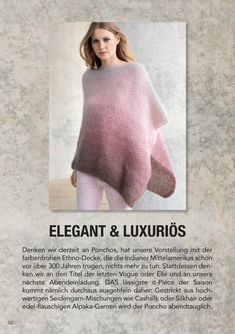Lana Grossa PONCHOS 1 Flyer