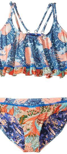 Maaji Kids Miss Jellyfish Bikini Set (Toddler/Little Kids/Big Kids) (Multicolor) Girl's Swimwear Sets - Maaji Kids, Miss Jellyfish Bikini Set (Toddler/Little Kids/Big Kids), 1957KSX-430, Apparel Sets Swimwear, Swimwear, Sets, Apparel, Clothes Clothing, Gift, - Fashion Ideas To Inspire