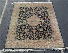 Kirman rug, 8' x 10' Available in our December 13th Catalog   #rugs #rug #runners #kirmanrug