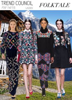 FOLKTALE #fashion #trend forecast Trend Council
