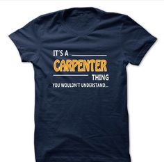It's a Carpenter thing.