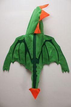 eat.sleep.MAKE.: Fall Felt Series: Hooded Dragon Cape