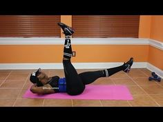 Abs Workout For Women To Lose Belly Fat Fast After Pregnancy After C Section ) - YouTube