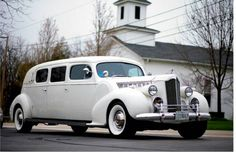 1939 Packard stretch limousine...