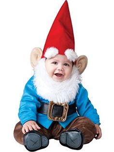 InCharacter Baby Lil' Garden Gnome Costume: Clothing