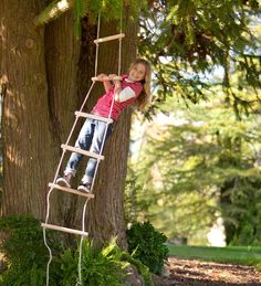 Sturdy Rope Ladder for Indoor & Outdoor